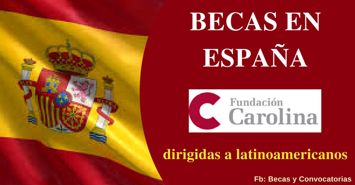 becas españolas