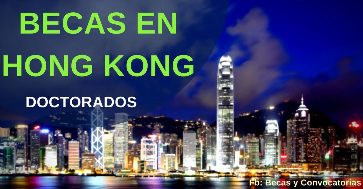 doctorados en hong kong