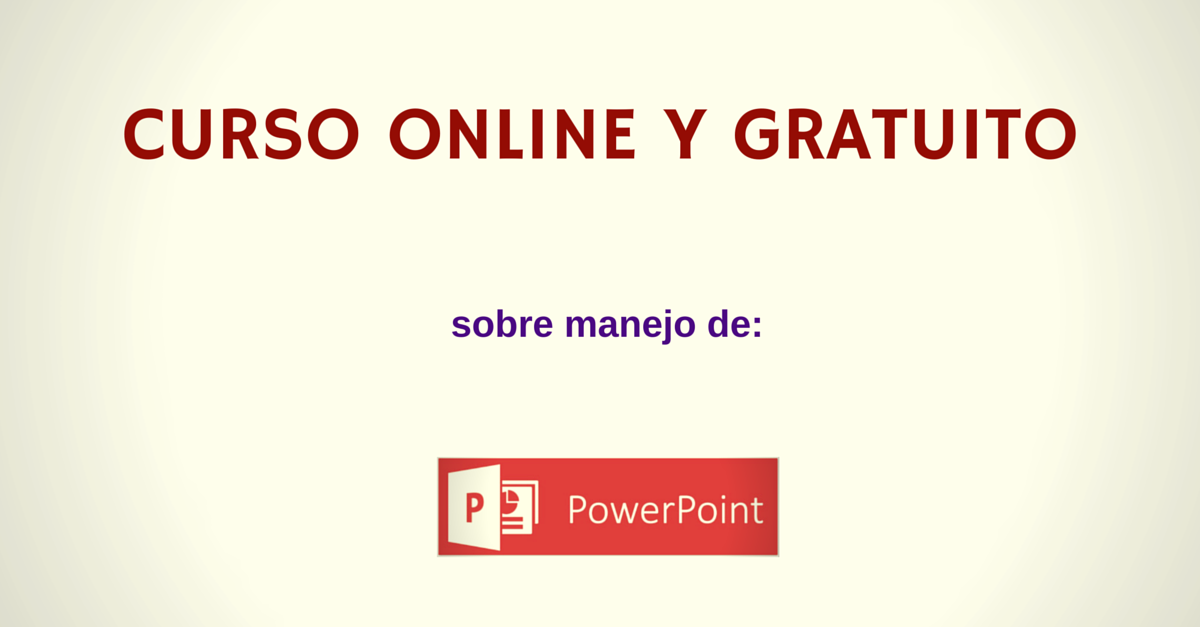 Curso power point gratis