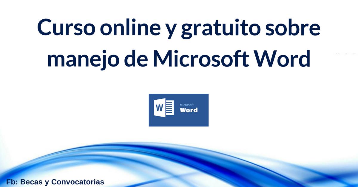 Curso online de Microsoft Word nivel avanzado. Tutorial paso a paso