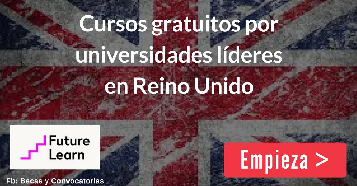 Cursos gratis online de las mejores universidades de Reino Unido