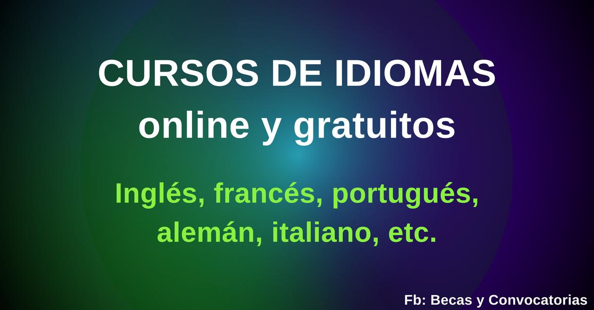 cursos online idiomas gratis