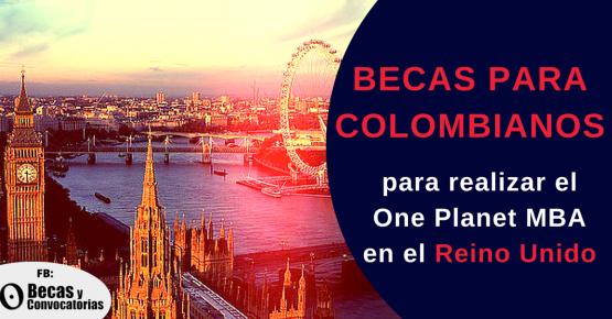 Becas para colombianos