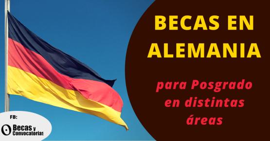 DAAD becas para estudiar en Alemania dirigidas a latinoamericanos