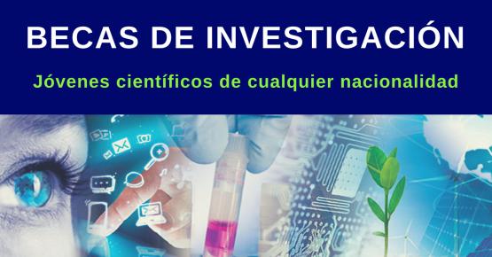 Becas de investigación para científicos