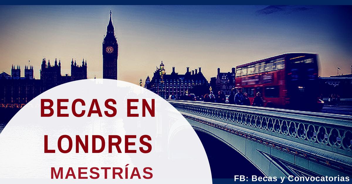 Maestrías en Londres para Colombianos