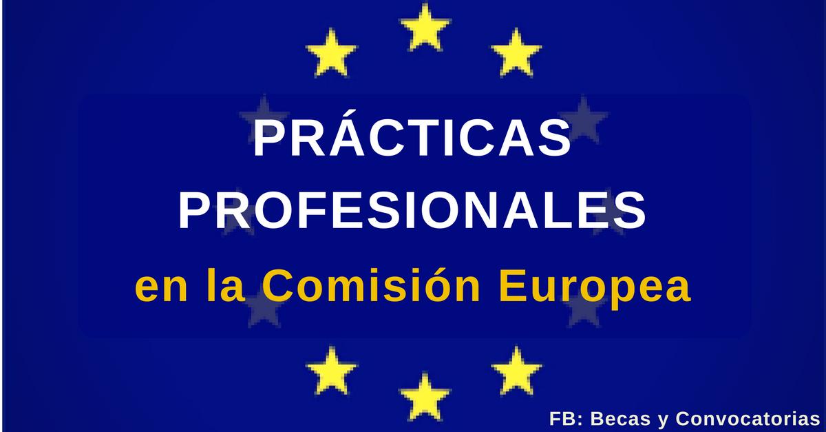 Prácticas profesionales en la Comisión Europea con remuneración