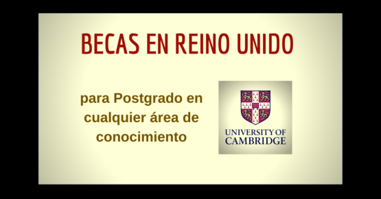 Posgrados en Cambridge