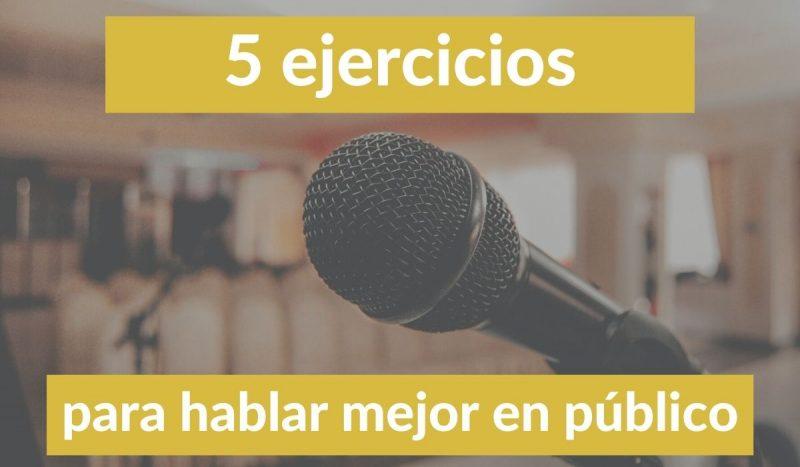 ejercicios de gesticulación para un orador