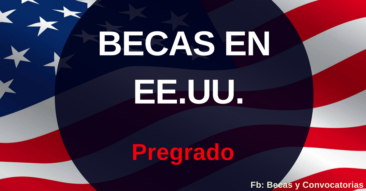 Becas nivel pregrado en Estados Unidos