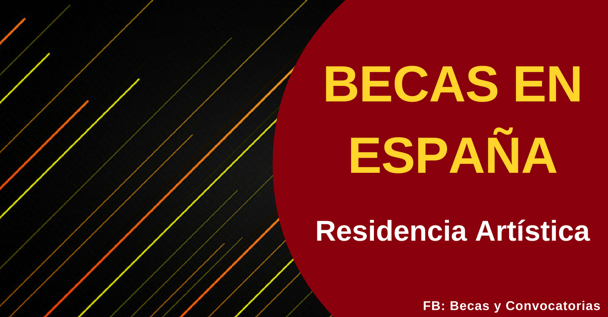 Becas en España para residencias artísticas