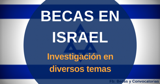 becas de investigacion en israel