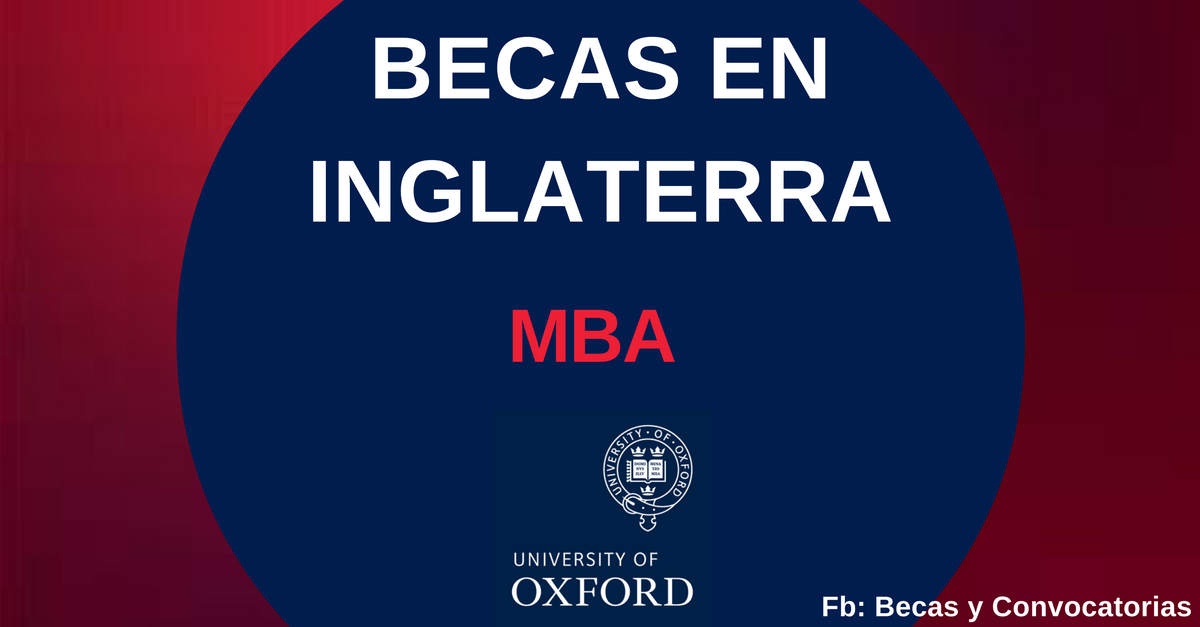 becas en oxford inglaterra