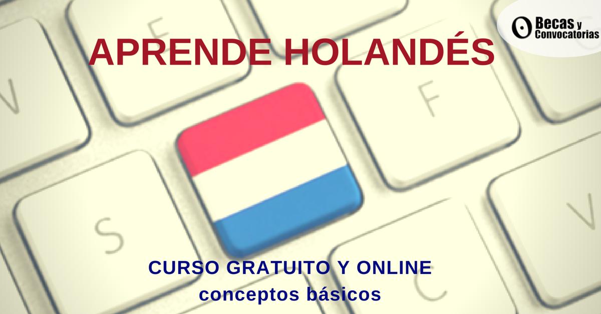 Aprender holandés gratis y a distancia con la prestigiosa Universidad Groningen