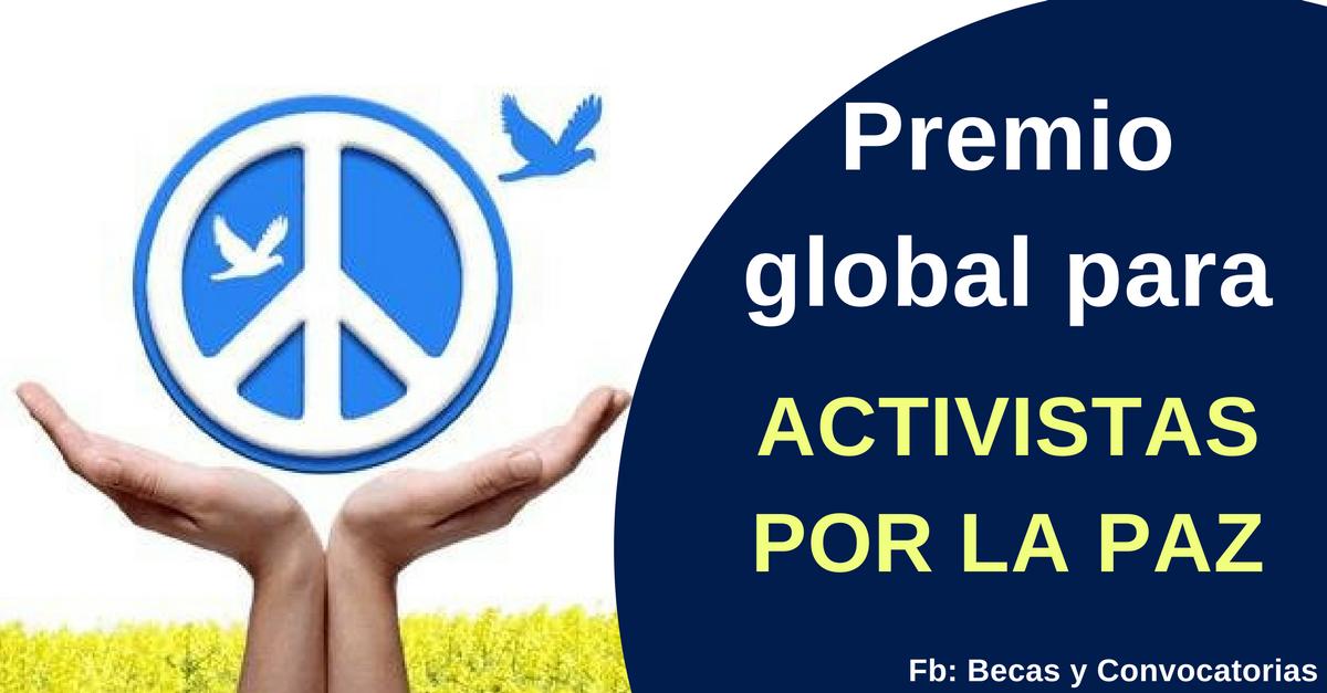 premio global por la paz