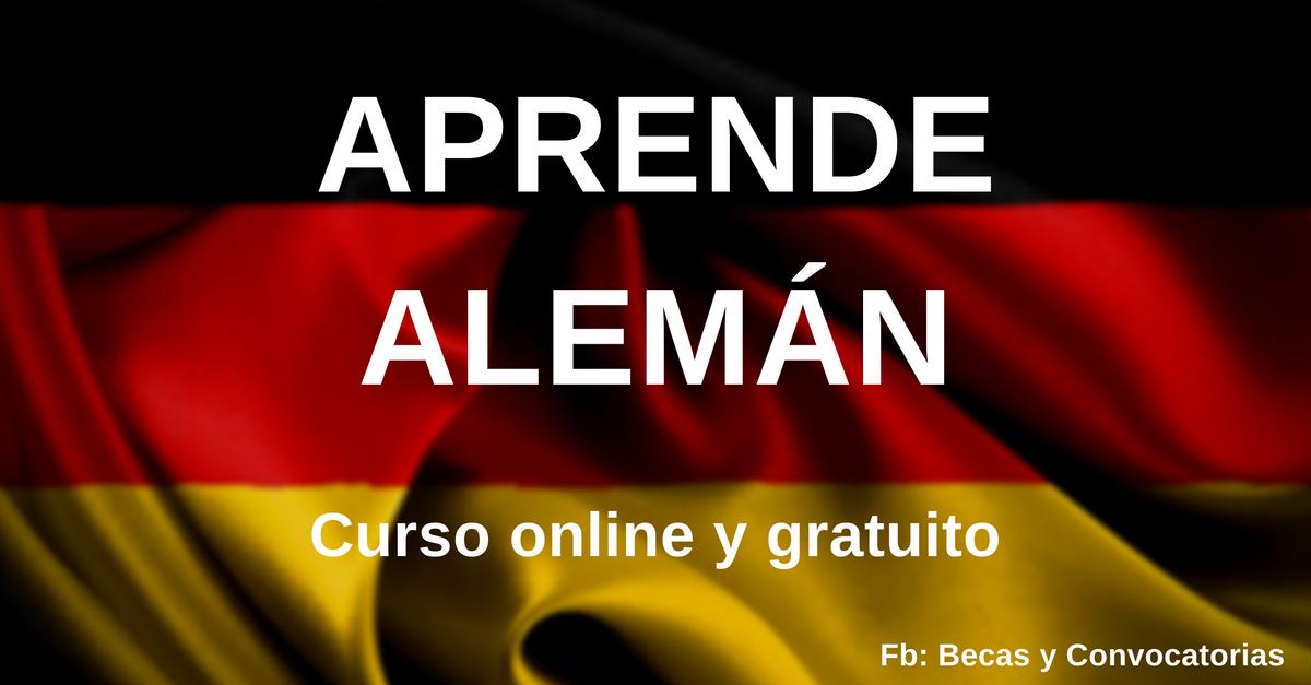 Curso para aprender alemán virtual y gratuito con certificado incluido