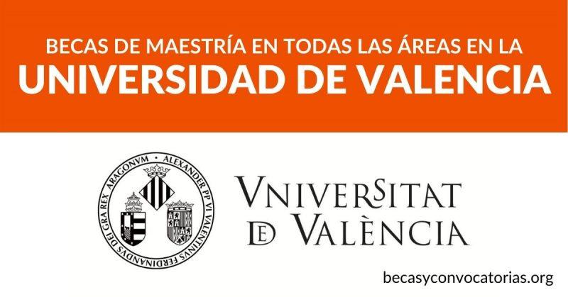 becas maestria universidad valencia