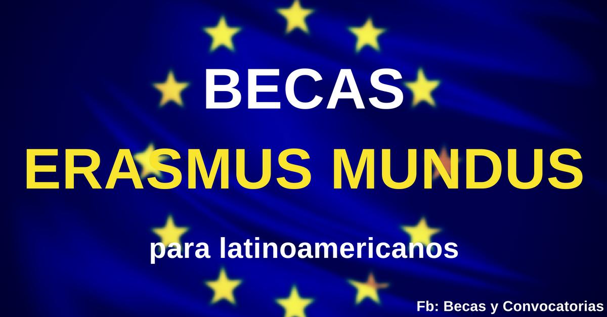 Becas Erasmus Mundus en Europa