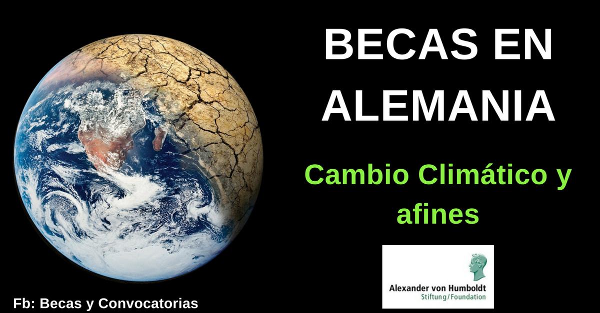 Becas Humboldt en Alemania para jóvenes investigadores latinoamericanos