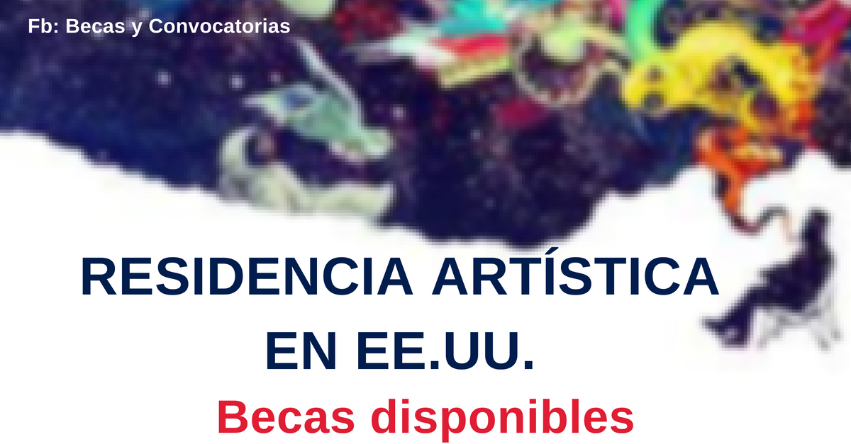 becas artisticas en EEUU