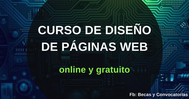 cursos de diseño de paginas web online gratis