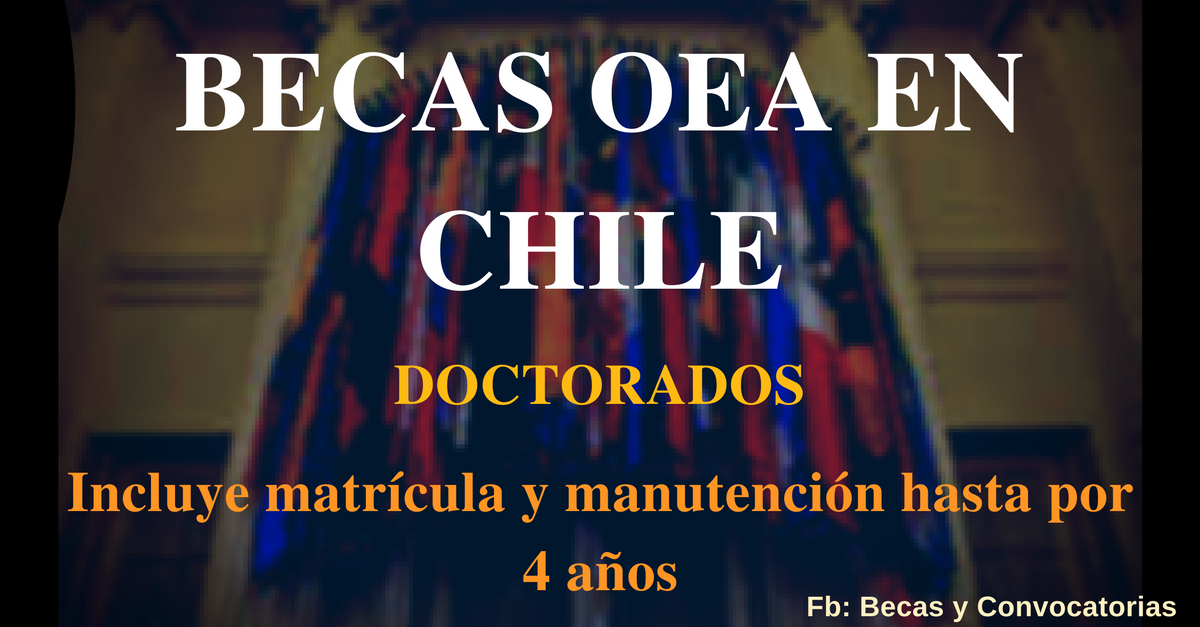becas en chile para doctorados