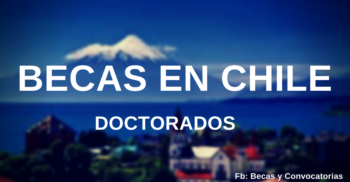 becas y doctorados en chile