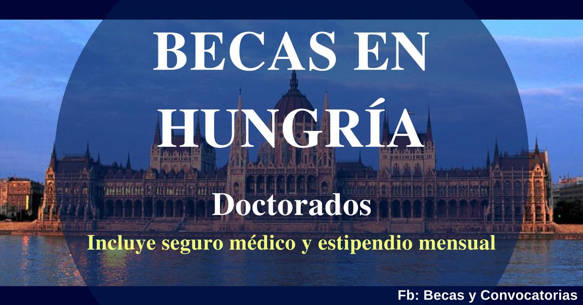 becas y doctorados en hungria