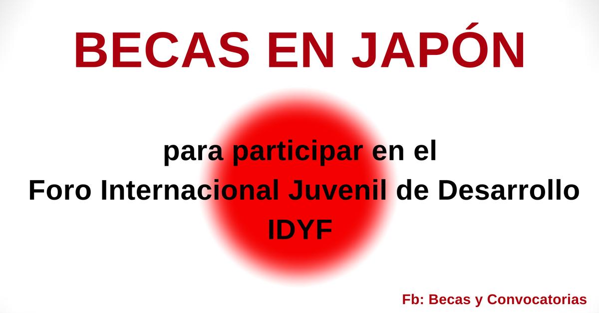 becas juveniles en japon