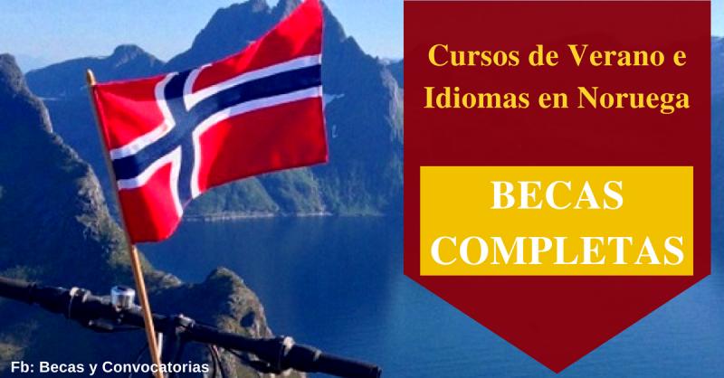 becas completas en noruega