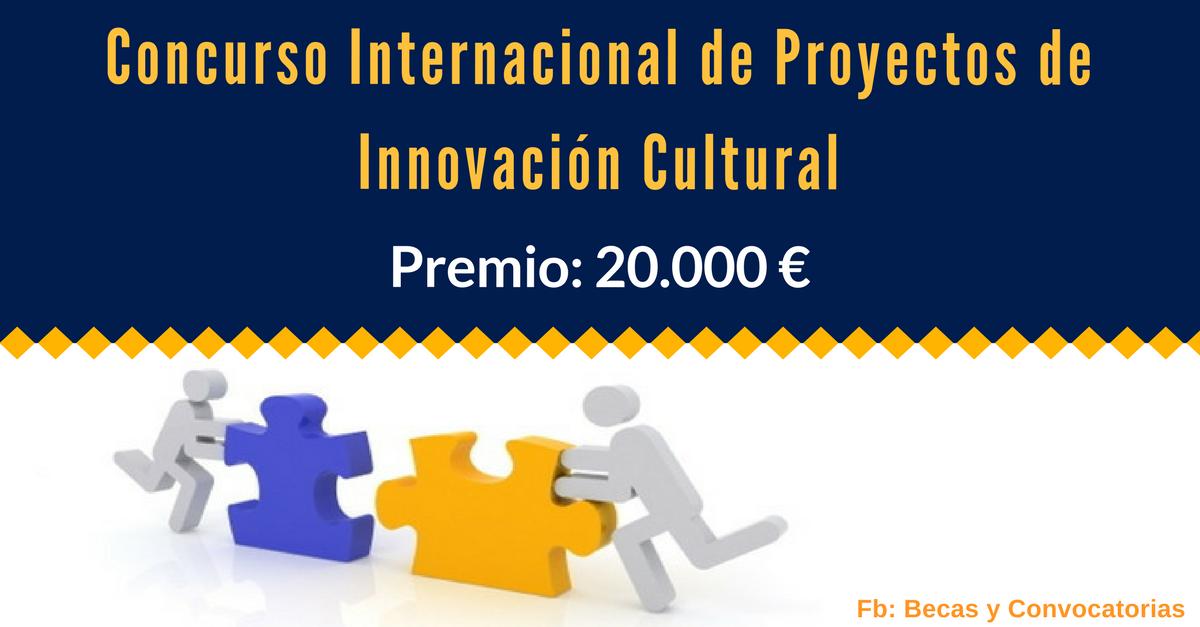 concurso de proyectos culturales