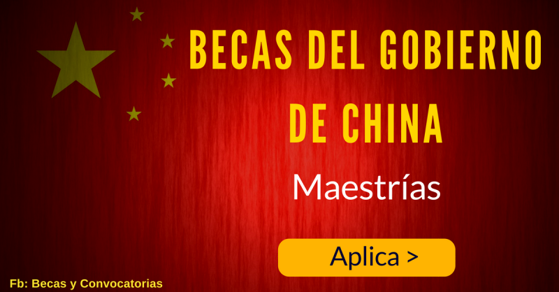 Becas gratis en china