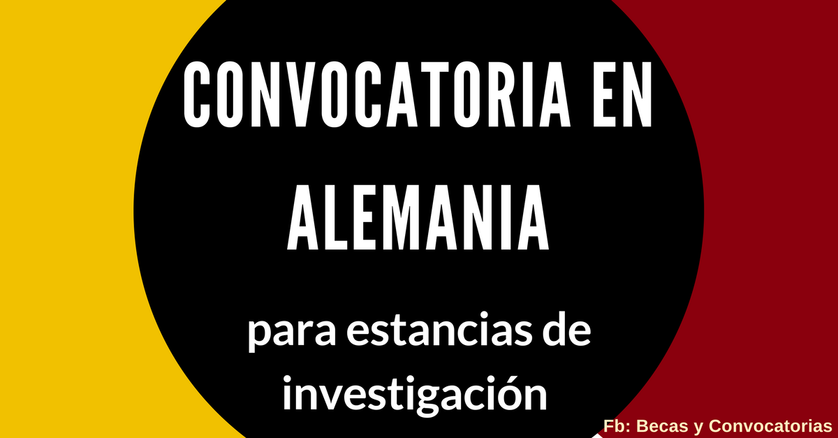 convocatorias en alemania