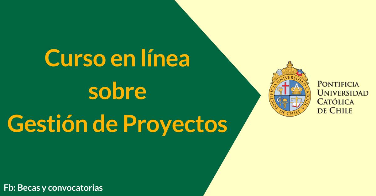 curso de gestion de proyectos U Católica de Chile