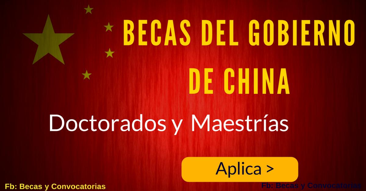 maestrias en china