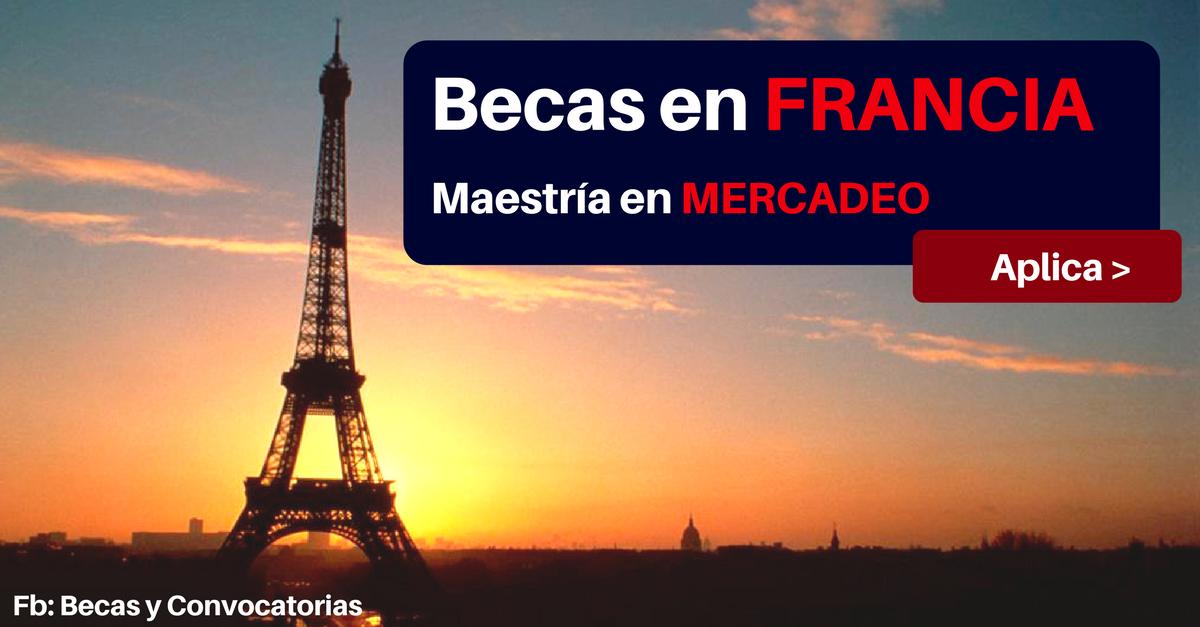 becas en francia