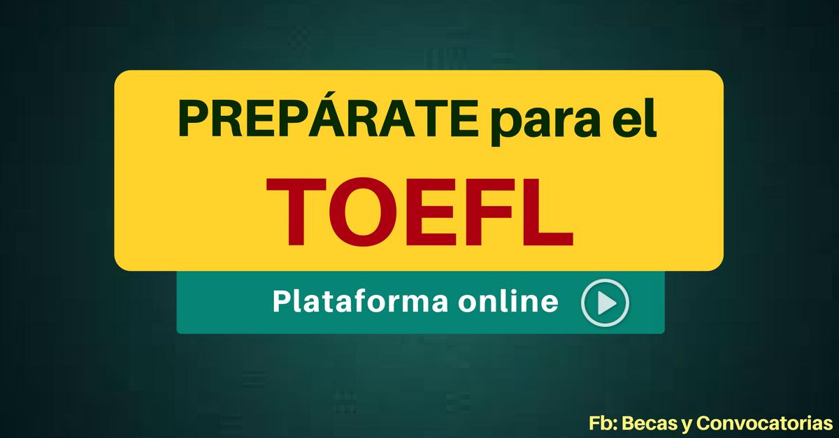 Toefl preparación
