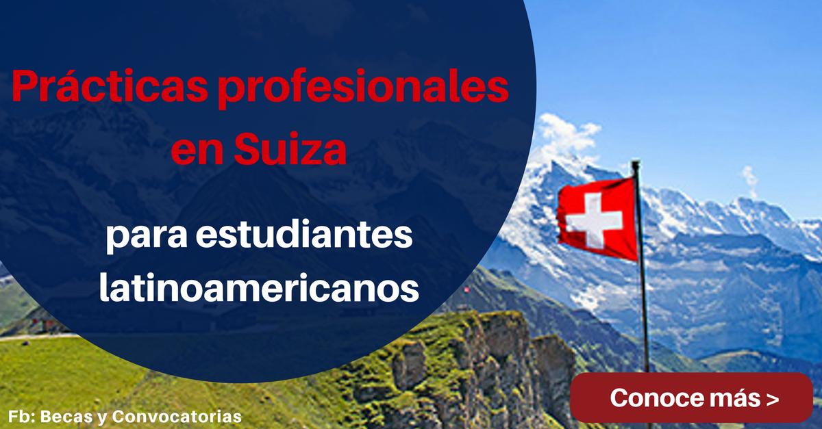 practicas profesionales en suiza