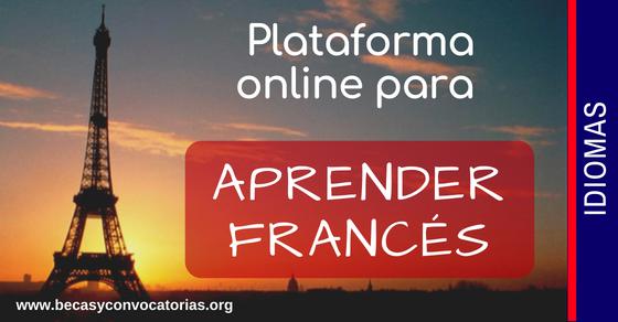 Aprender francés y practicar con la plataforma virtual y gratuita