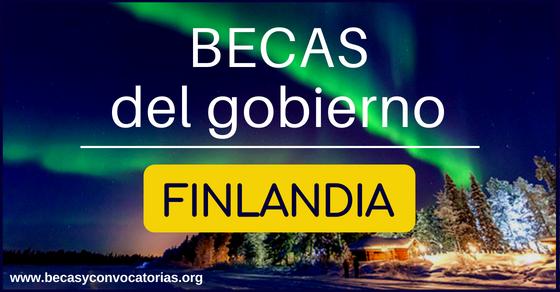 Becas en Finlandia para extranjeros