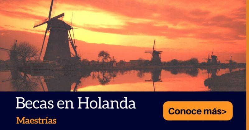 Becas OKP para maestrias en Holanda