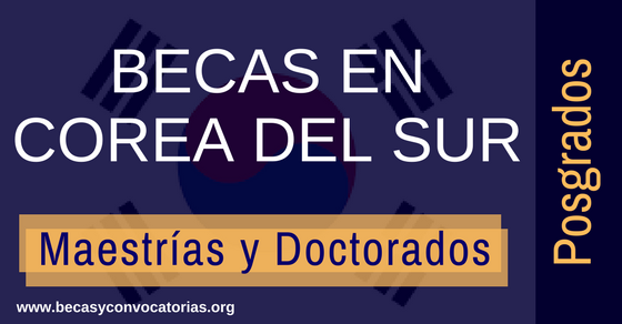 Becas universitarias en Corea del Sur