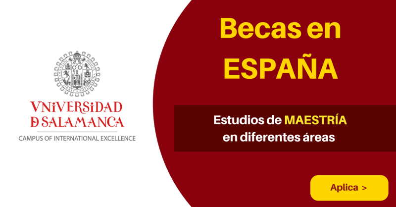Becas Universidad de Salamanca España