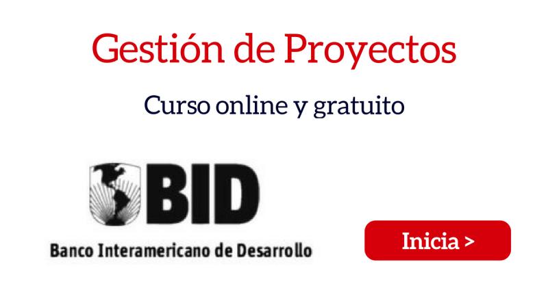 Curso online gratuito: Gestión de Proyectos para América Latina