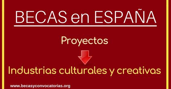 becas culturales en España