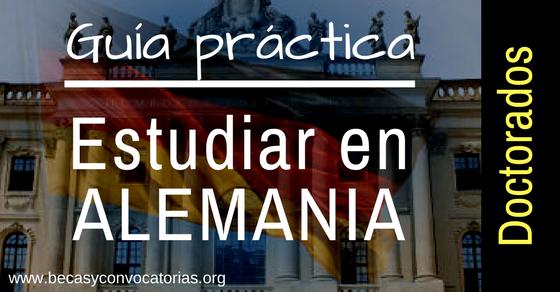 Guía práctica para estudiar en Alemania programas de doctorado