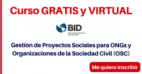 Curso Proyectos Sociales