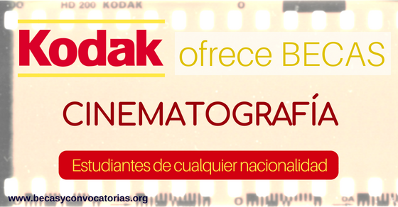 becas cinematograficas