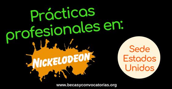 Prácticas profesionales en Nickelodeon EE.UU. para estudiantes o recién graduados