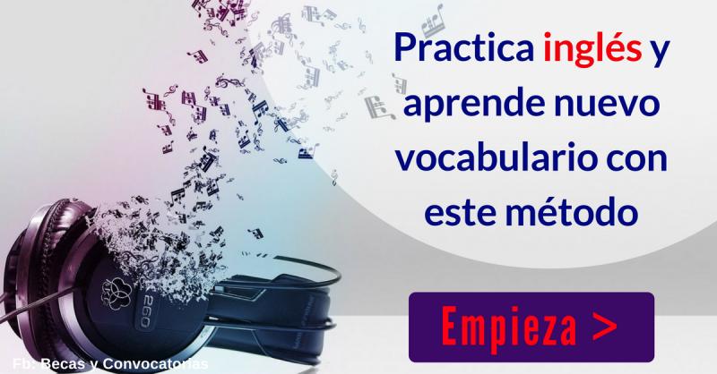 Novedoso método de estudio para aprender vocabulario en inglés